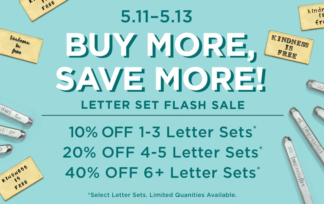 Letter Set Sale